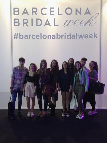 ESTUDIANTES DE ICMODA VISITAN LA BRIDAL WEEK BCN